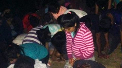 Holy Spirit Baptizing Children in Latin America